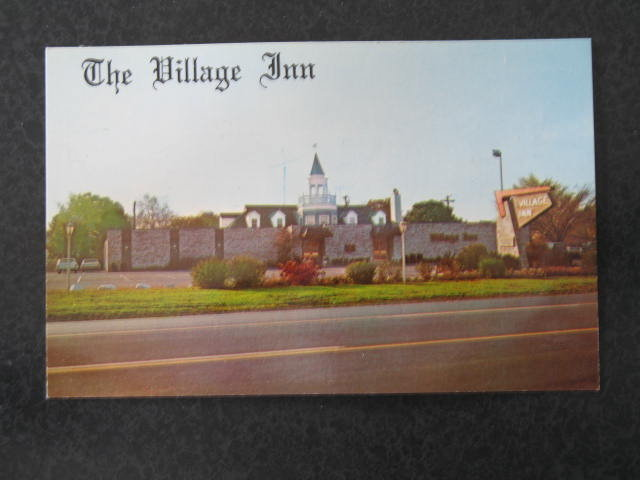 The Village Inn, Allentown, PA postcard