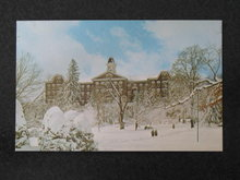 John Sutton Hall, Indiana University of PA,,  Indiana,  PA postcard