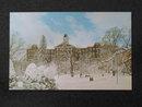 John Sutton Hall, Indiana University of PA,,  Indiana,  PA postcard