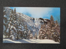 Toll Road, Mt. Mansfield, Stowe VT postcard