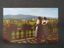 Baroness von Trapp and her daughter Hedwig, Stowe VT postcard