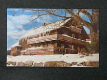 Winter, Trapp Family Lodge, Stowe VT postcard