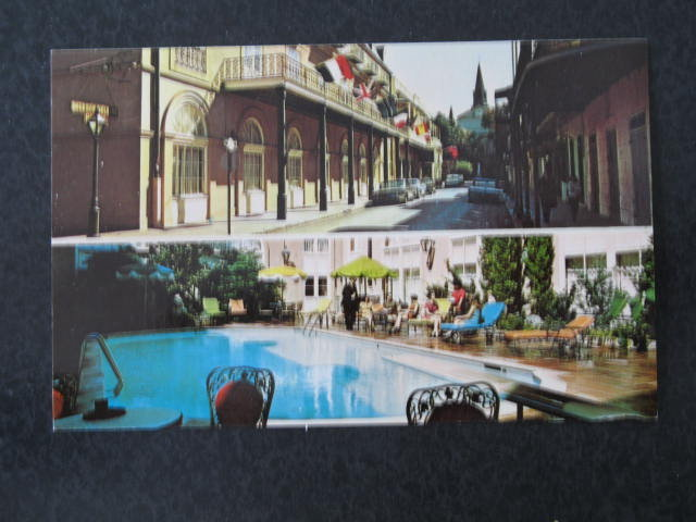 The Bourbon Orleans Ramada, New Orleans LA,  postcard