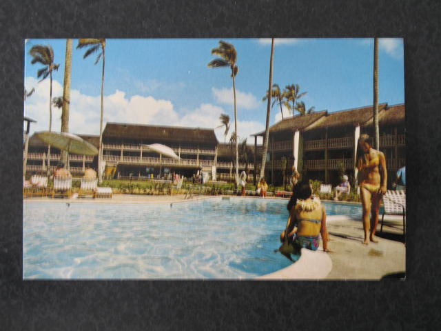 Islander Inns, Hawaii,  postcard