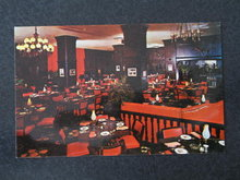Penn-Sheraton Hotel dining room, Pittsburgh, PA,  postcard