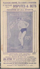 Police Gazette Sporting Annual advertising handbill