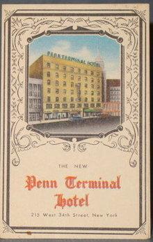 Hotel Penn Terminal, New York, NY postcard
