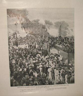 Dedication of Hebrew University on Mount Scopus, Jerusalem, 1925 photographic print