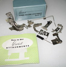Greist Sewing Machine Attachments