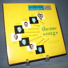 45 RPM Boxed Set : Theme Songs played by the bands that made them famous