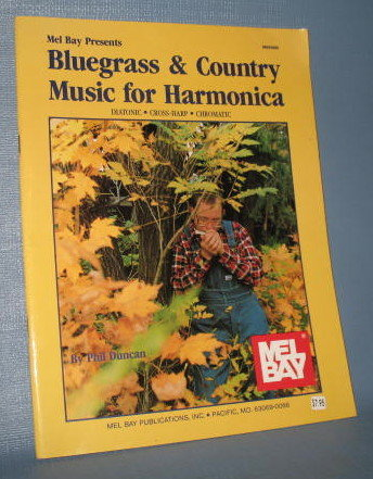Mel Bay presents Bluegrass & Country Music for Harmonica