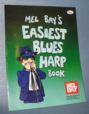 Mel Bay's Easiest Blues Harp Book by Phil Duncan