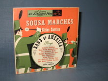 Sousa Marches played by Cities Service Band of America : 45 RPM - 2 record set