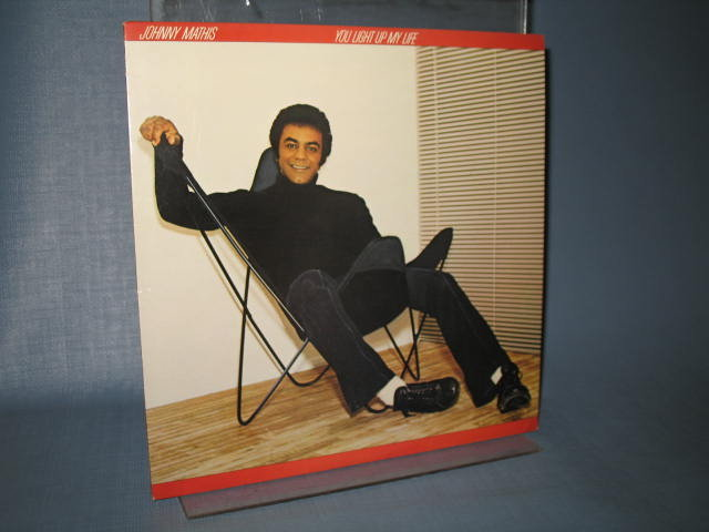 Johnny Mathis : You Light Up My Life LP record