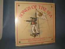 Songs of the Sea : United States Merchant Marine Academy Kings Point Glee Club  LP record