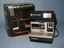 Polaroid Sun 600 LMS Land Camera