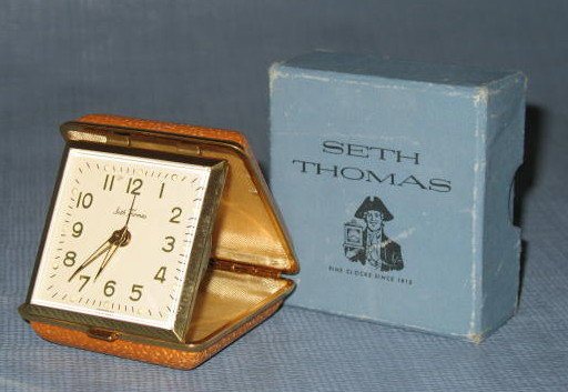 Seth Thomas 946 Classmate 10 travel alarm clock