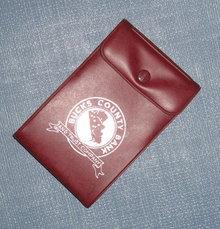 Bucks County Bank and Trust Company (PA) notepad plastic sleeve