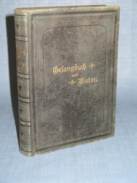 Gesangbuch mit Noten