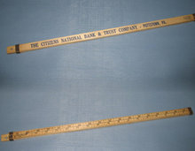 Citizens National Bank, Pottstown PA 36 inch ruler