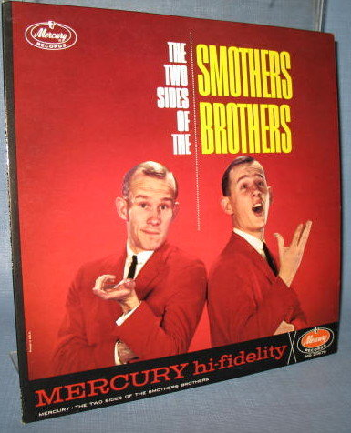 The Two Sides of the Smothers Brothers  33 1/3 RPM LP high fidelity record