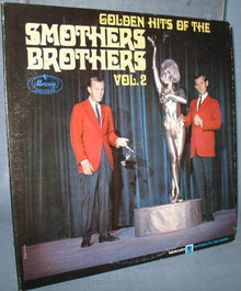 Golden Hits of the Smothers Brothers Volume Two  33 1/3 RPM LP high fidelity record