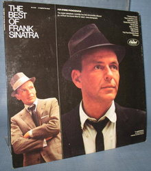 The Best of Frank Sinatra (A Capitol Re-issue) 33 1/3 RPM duophonic LP record