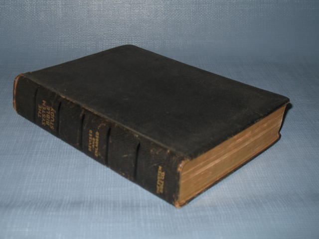 The System Bible Study, edition of 1938