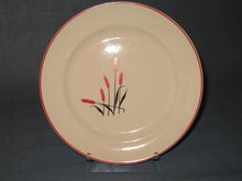 Universal Camwood Ivory Cat-Tail salad plate