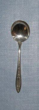 Oneida Debutante/ Grandeur/ Princess round bowl soup spoon