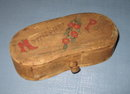 Norristown PA wooden trinket box