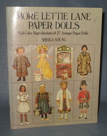 More Lettie Lane Paper Dolls by Sheila Young