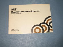 JCPenney MCS Series Nodular Component Systems Stereo Receiver manual