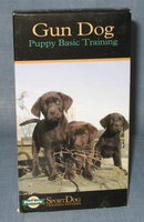 Gun Dog: Puppy Basic Training VHS cassette