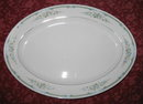 Four Crown China Lexington oval platter