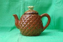 Majolica Pineapple Tea Pot