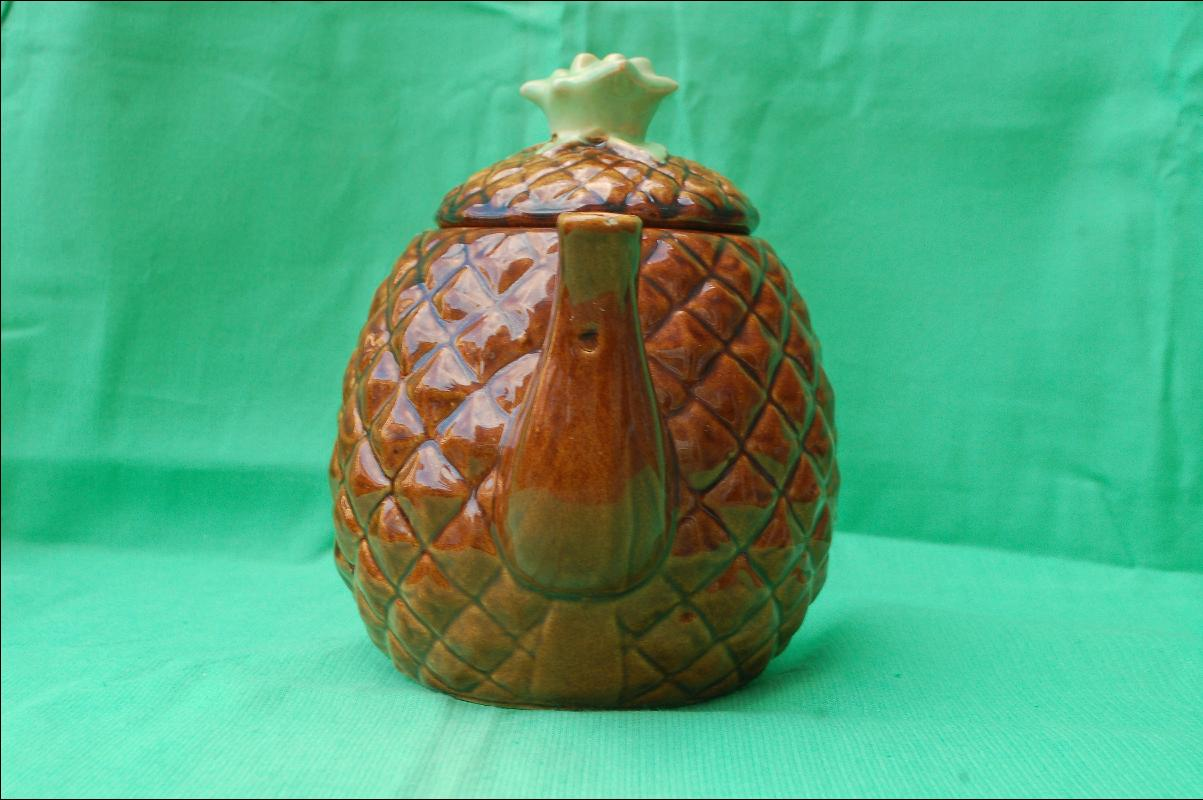 Majolica Pineapple Tea Pot