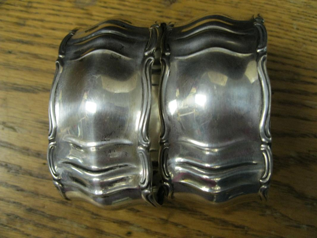 Victorian Sterling Silver Napkin Rings