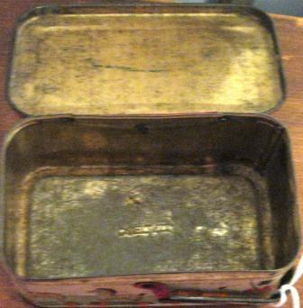 Antique Iten Biscut Co. Animal Cookies (Crackers) Tin