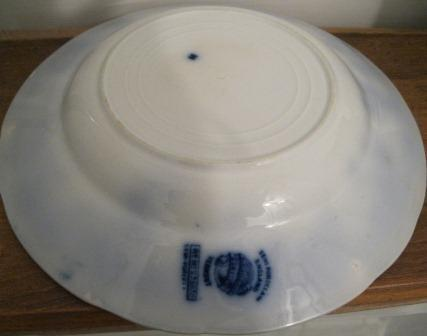 Flow Blue Vermont 9 Inch Bowl