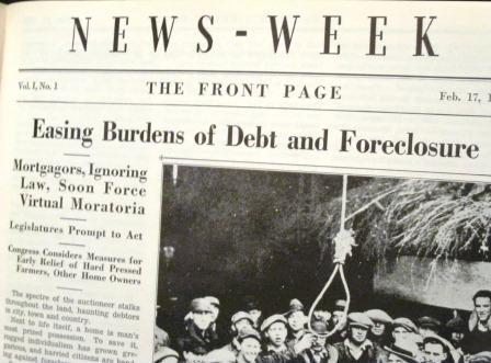 News-Week Volume 1 issue 1 Featuring Hitler and FDR