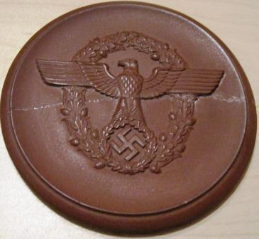 Nazi Award Plaque