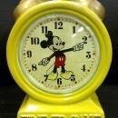 Vintage Enesco Ceramic Walt Disney Mickey Mouse Alarm Clock Bank