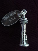 Vintage Sterling Charm Space Needle