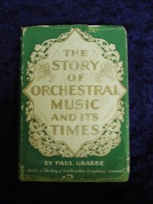 Antique Book Orchestral Music