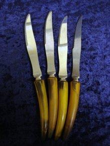 Antique Steak Knives Set of 4