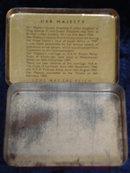 Souvenir Tin Box Coronation Queen Elizabeth