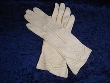 Antique Kid Leather Gloves