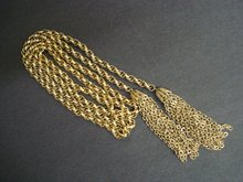 Heavy Chain Belt by Giovanni Silvertone