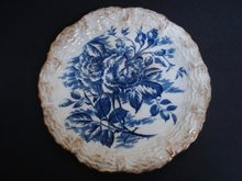 Antique Plate Decorative The ROSE